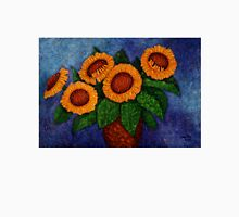 Sunflowers of my hope Womens Fitted T-Shirt