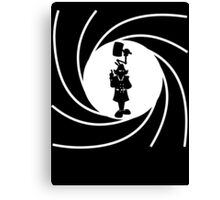 Double O Gadget Canvas Print