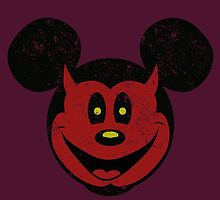 Devil Mickey by grafoxdesigns