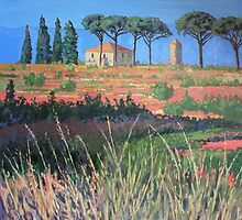 A view of Tuscany by Tracey Pacitti