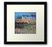 A view of Tuscany Framed Print