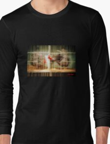 Cock Fight Long Sleeve T-Shirt