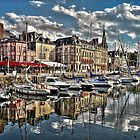 Honfleur Beautiful Port Town of Normandy  by Lanis Rossi