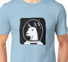 Space lama Unisex T-Shirt