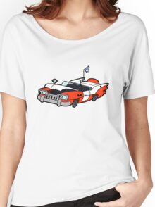 Junk Pile Cats Cadillac Women's Relaxed Fit T-Shirt