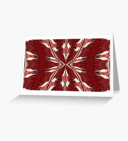 Coral Delight Greeting Card