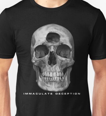 Immaculate Deception Skull Black T-Shirt