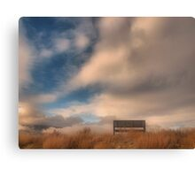 Cloud View Canvas Print