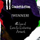 The Love of Eerie and Enchanting Artwork BANNER  by yasmine