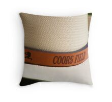 Coors Field, Colorado Rockies Baseball Throw Pillow