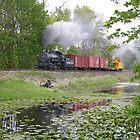 Steam Freight by DavesPhoto