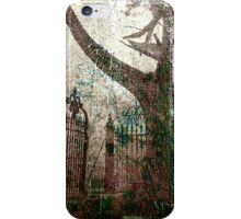 tree and gate iPhone Case/Skin
