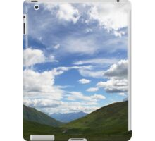 Hatcher Pass Alaskan Mountains Scenic View iPad Case/Skin