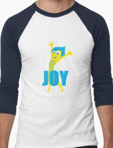 Joy Inside out Men's Baseball ¾ T-Shirt