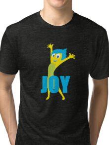 Joy Inside out Tri-blend T-Shirt