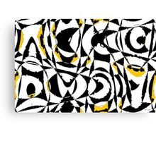 Anxiety Abstract Canvas Print