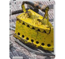 old iron for cloths iPad Case/Skin