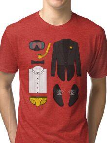 A FORMAL PENGUIN AFFAIR Tri-blend T-Shirt