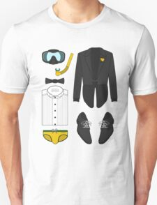 A FORMAL PENGUIN AFFAIR Unisex T-Shirt
