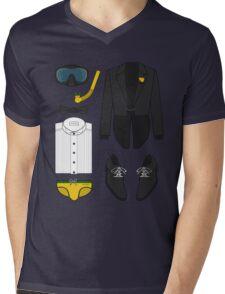 A FORMAL PENGUIN AFFAIR Mens V-Neck T-Shirt
