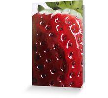 The Big Strawberry Greeting Card