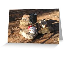 Camp Kitchen Greeting Card