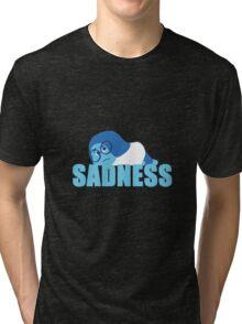 Sadness Inside out Tri-blend T-Shirt