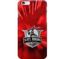Part-time Dragon Slayer iPhone Case/Skin