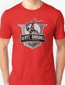 Part-time Dragon Slayer Unisex T-Shirt