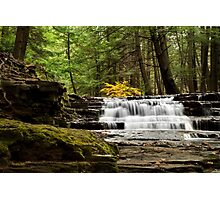 Soothing Waters Waterfall Photographic Print