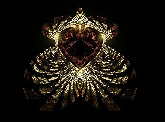 zebra heart by Edith Arnold