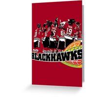 Chicago Blackhawks Greeting Card