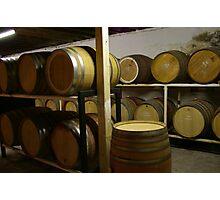 swan valley barrels Photographic Print