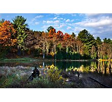 Scenic Autumn Landscape Photographic Print