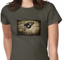 yin & yang (army colour) Womens Fitted T-Shirt