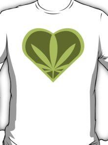 I heart weed! T-Shirt