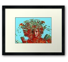 Flower Horizon Framed Print