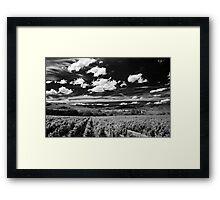 Blaceret, France [Pseudo-IR] Framed Print