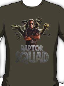 Raptor Squad Metal Font - Trainer T-Shirt