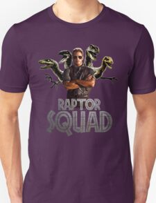Raptor Squad Metal Font - Trainer T-Shirt
