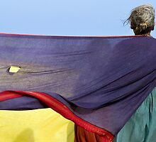 Saris. Tiruchendur by Claude  Renault