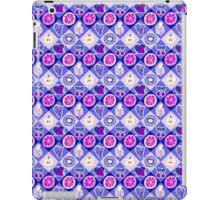 Purple Fruit Diamond Pattern iPad Case/Skin