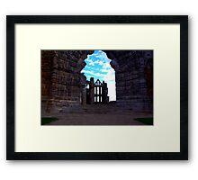 Whitby Abbey #3 Framed Print