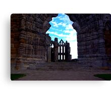 Whitby Abbey #3 Canvas Print