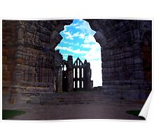 Whitby Abbey #3 Poster