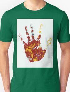 hand print design  T-Shirt