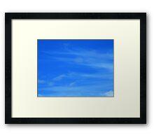 Wispy Framed Print