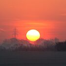 Sunset in Herefordshire by Geoff Carpenter