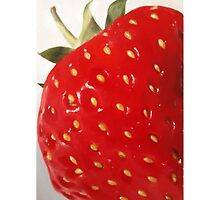 Lovely Big Strawberry by James Coates