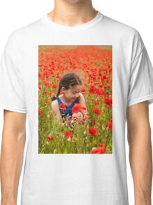 Picking flowers Classic T-Shirt